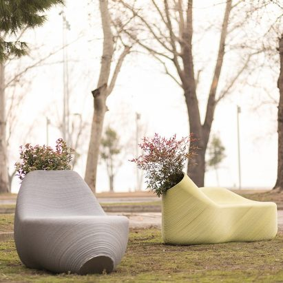 The New Raw creates 3D printed furniture from plastic waste
