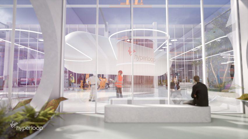 BIG design Virgin Hyperloop Certification Center for West Virginia