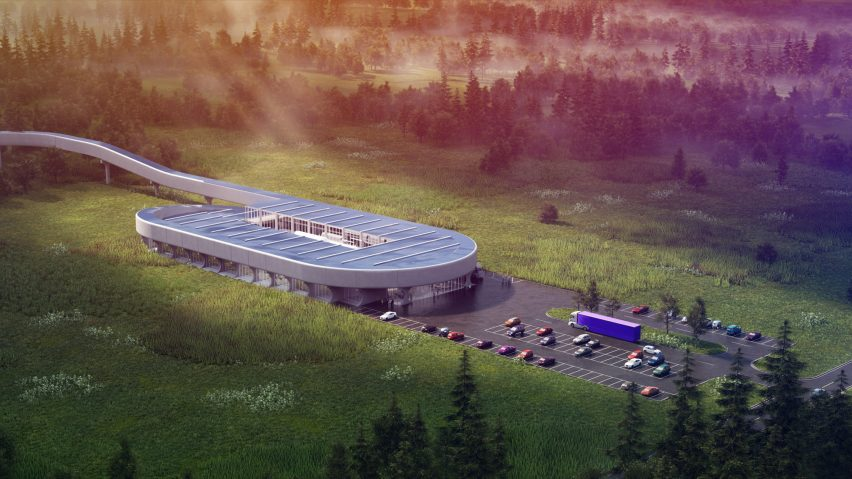 BIG designs Virgin Hyperloop Certification Center for West Virginia