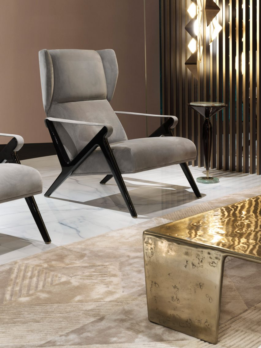 Mauro Lipparini's Imagine armchair from Visionnaire's Beauty collection
