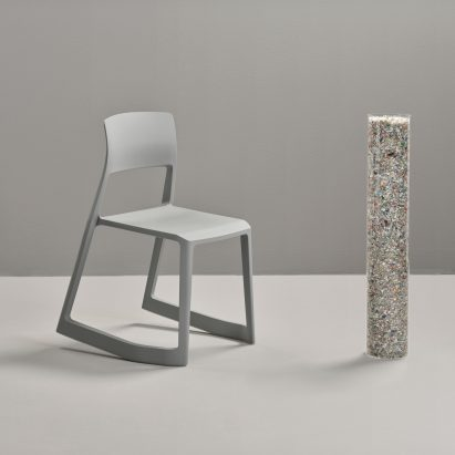 Barber Osgerby for Vitra, Tip Ton RE made of recycled plastic