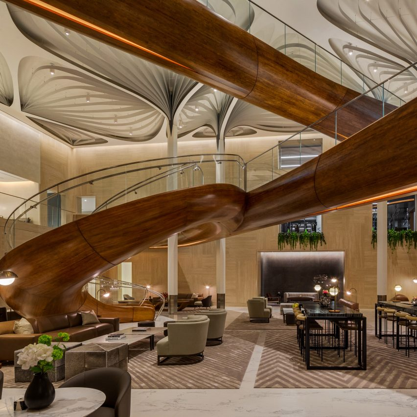 Rockwell Group completes luxury residents-only leisure club for New York's Waterline Square