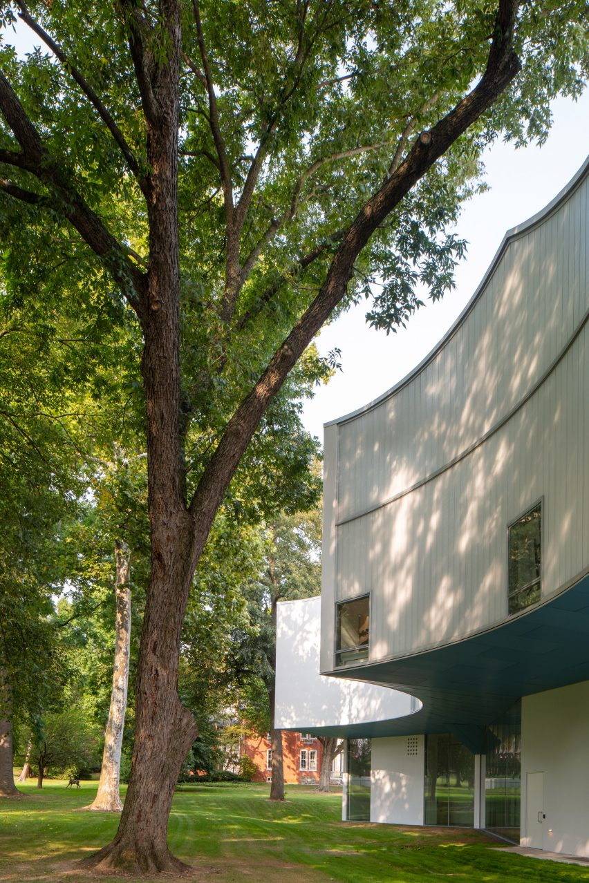 Winter Visual Arts Building by Steven Holl Architects in Lancaster, Pennsylvania