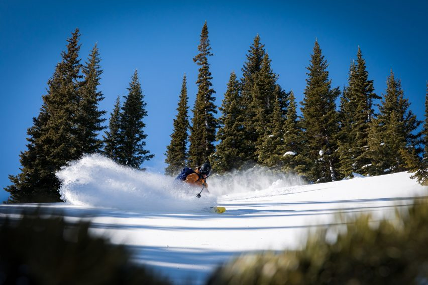 WNDR Alpine develops skis made from algae to clean up slopes