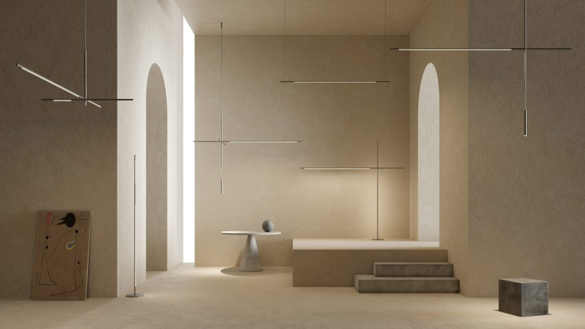 XYZ lighting collection by Bybeau