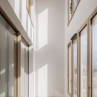 Interior of Zellige housing in Nantes, France, by Tectône and Tact Architectes
