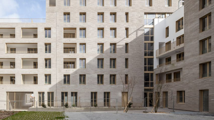 Zellige social housing in Nantes
