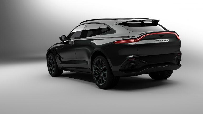 Adjaye-designed Aston Martin DBX luxury car for Aston Martin Residences by David Adjaye and Aston Martin