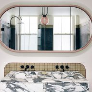 Bathroom of 20 Bond apartment by Home Studios