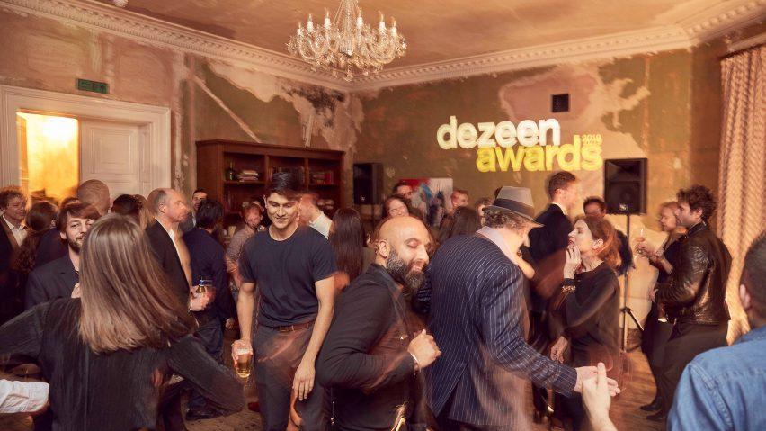 Dezeen Awards 2019 party
