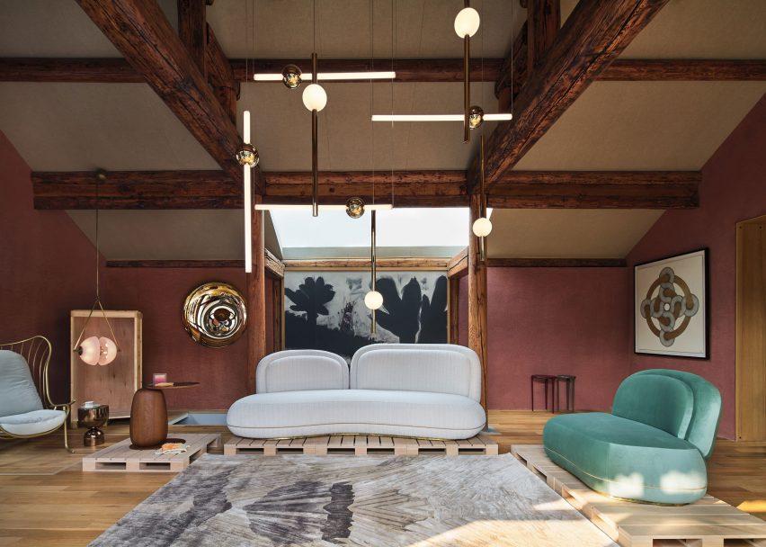 House of Wang furniture at Design Shanghai 2020