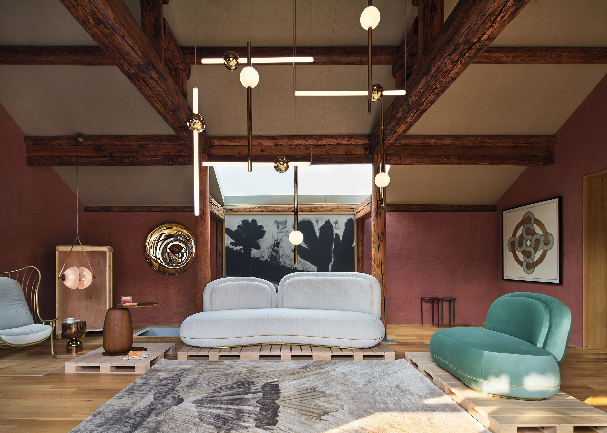 House of Wang furniture at Design Shanghai 2020