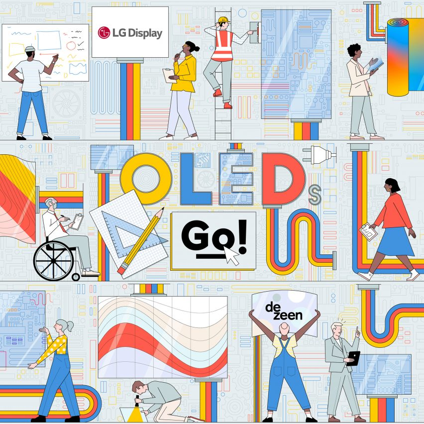 LG Display and Dezeen launch ?46,000 OLEDs Go! design competition