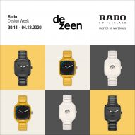 Rado to launch four new watches in virtual design week on Dezeen