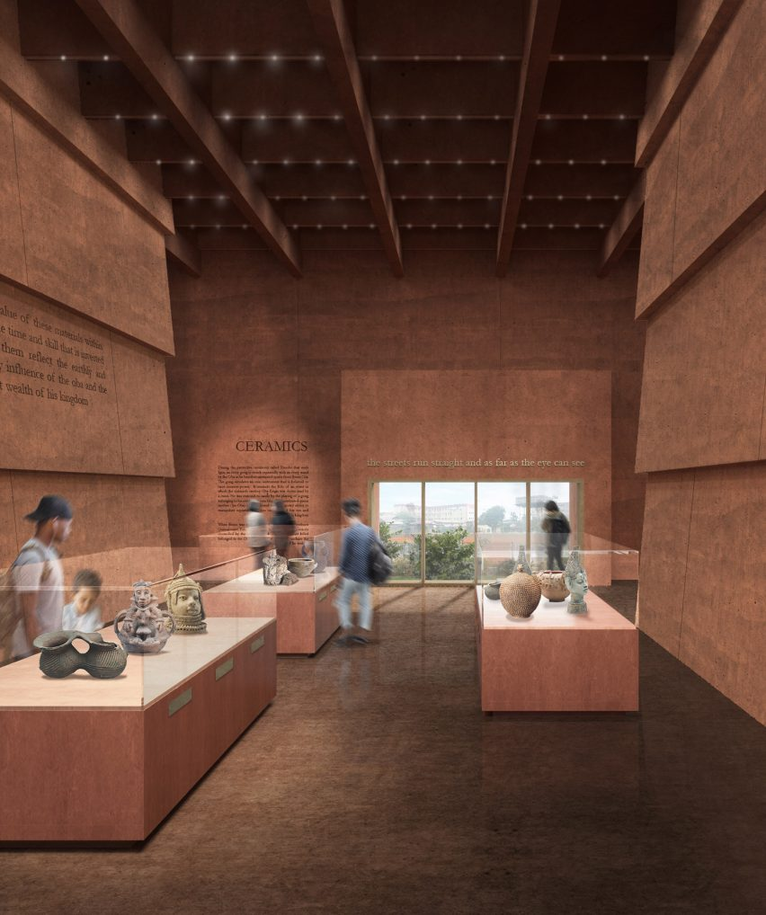 Edo Museum of West African Art by Adjaye Associates