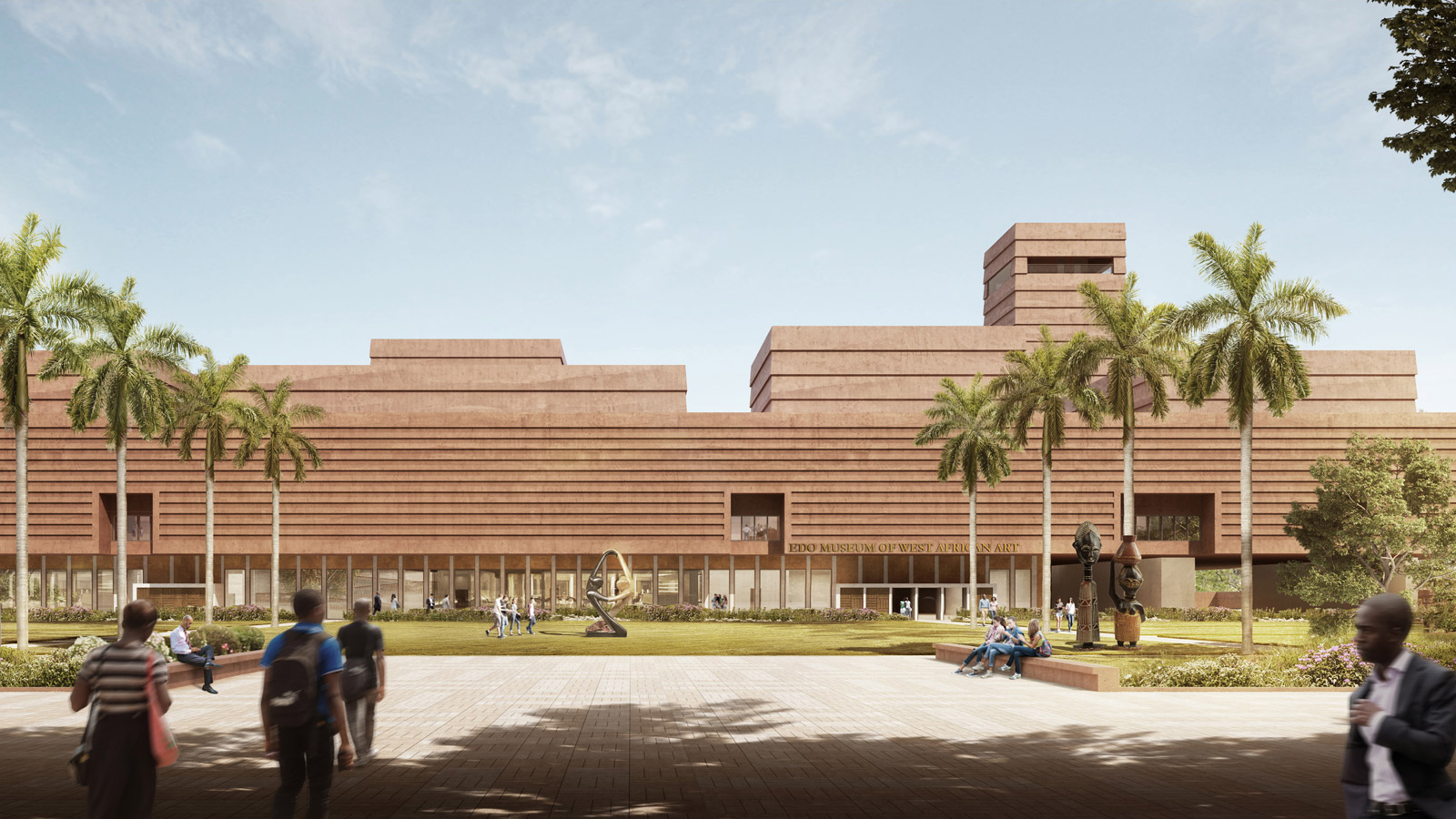 Adjaye Associates reveals vision for Edo Museum of West African Art for looted artifacts exhibition