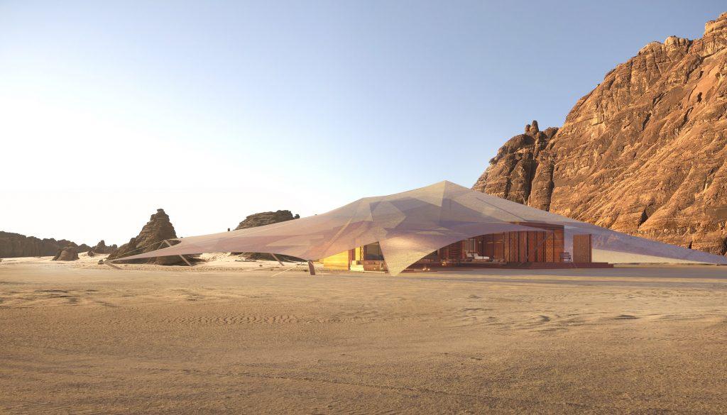 AW2 designs Bedouin-informed tent resort in Saudi Arabia's AlUla desert