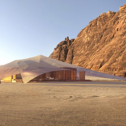 Tented Resort by AW2 in Saudi Arabia's AlUla desert