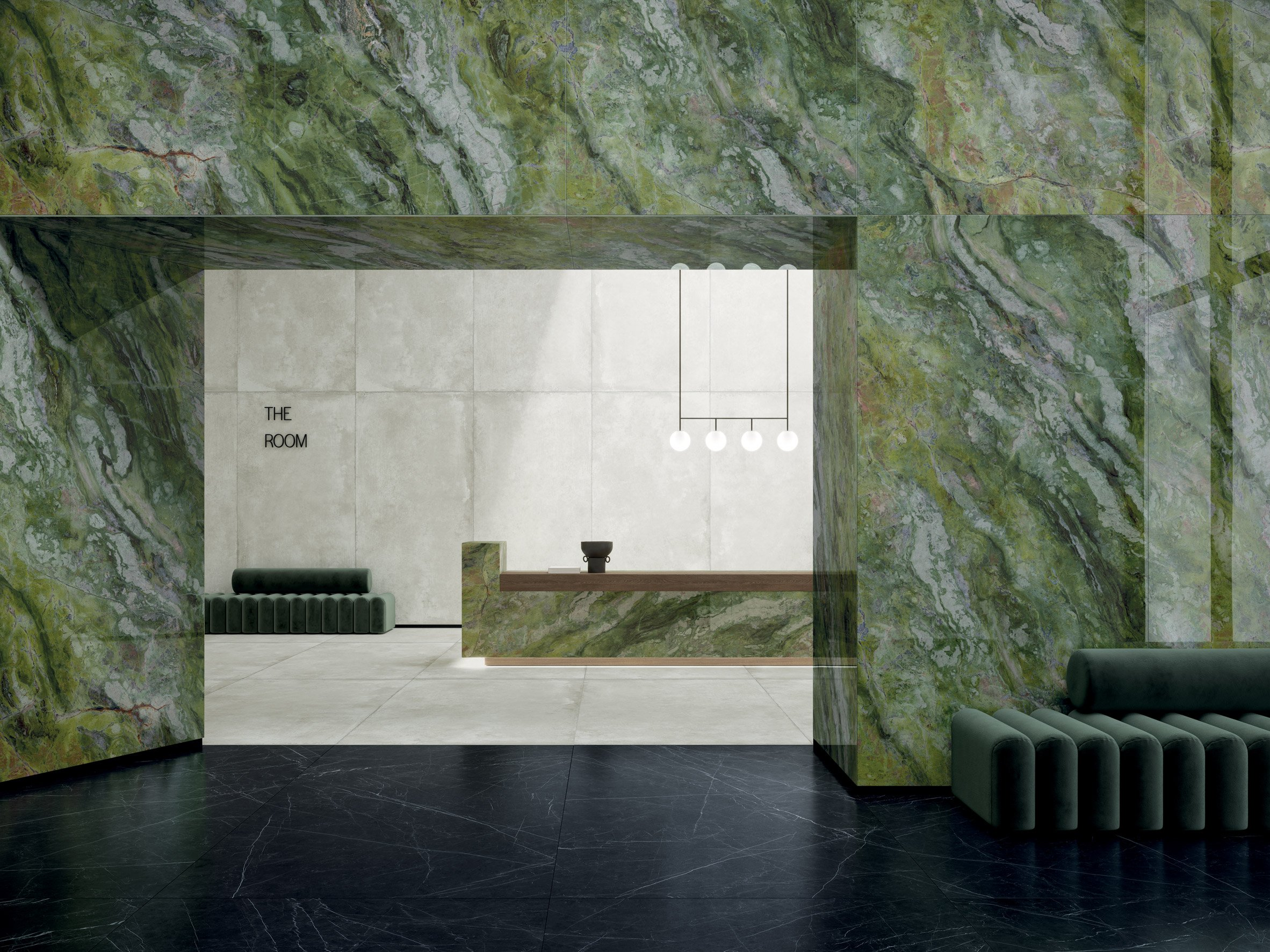 Brilliant Green by Ariosteain the Ultra Marmicollection