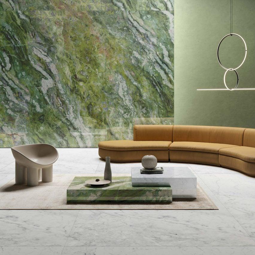 Brilliant Green –Ultra Marmi collection