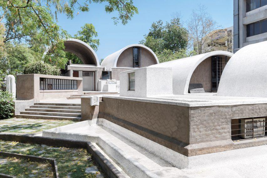 Sangath Architect's Studio, Ahemdabad, India, 1980