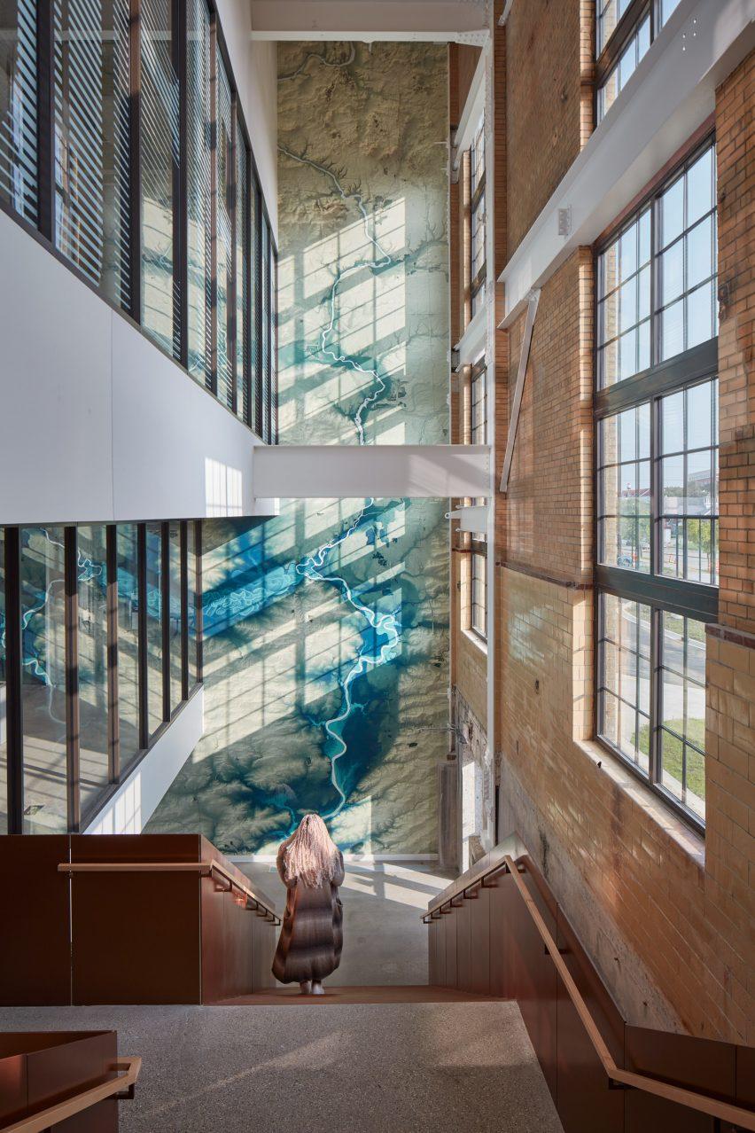 Interiors of Beloit Powerhouse by Studio Gang