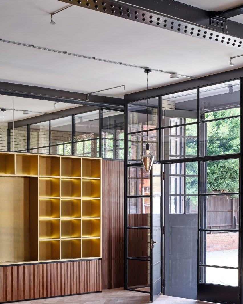 Interiors of Belsize Fire Station apartments by Tate Harmer, London