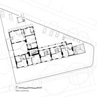 Plans for Belsize Fire Station converted into apartments by Tate Harmer, London
