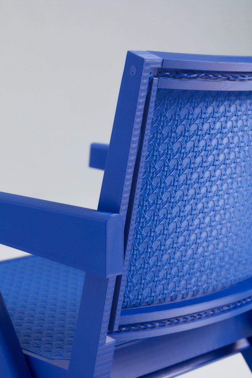 3D-printed chair