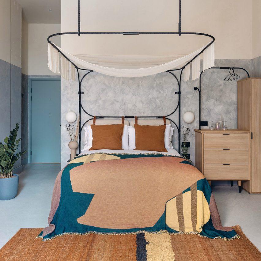 Bedroom in Bermonds Locke hotel, UK, by Holloway Li