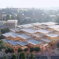 BIG unveils The Village student centre for Johns Hopkins University