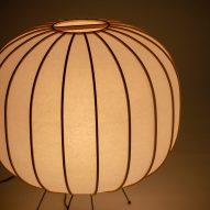 Washi paper lamp Bombori by Boffi