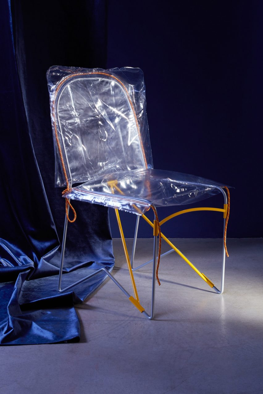 Plastic-clad Zhora chair by Older with Alexander Vinther