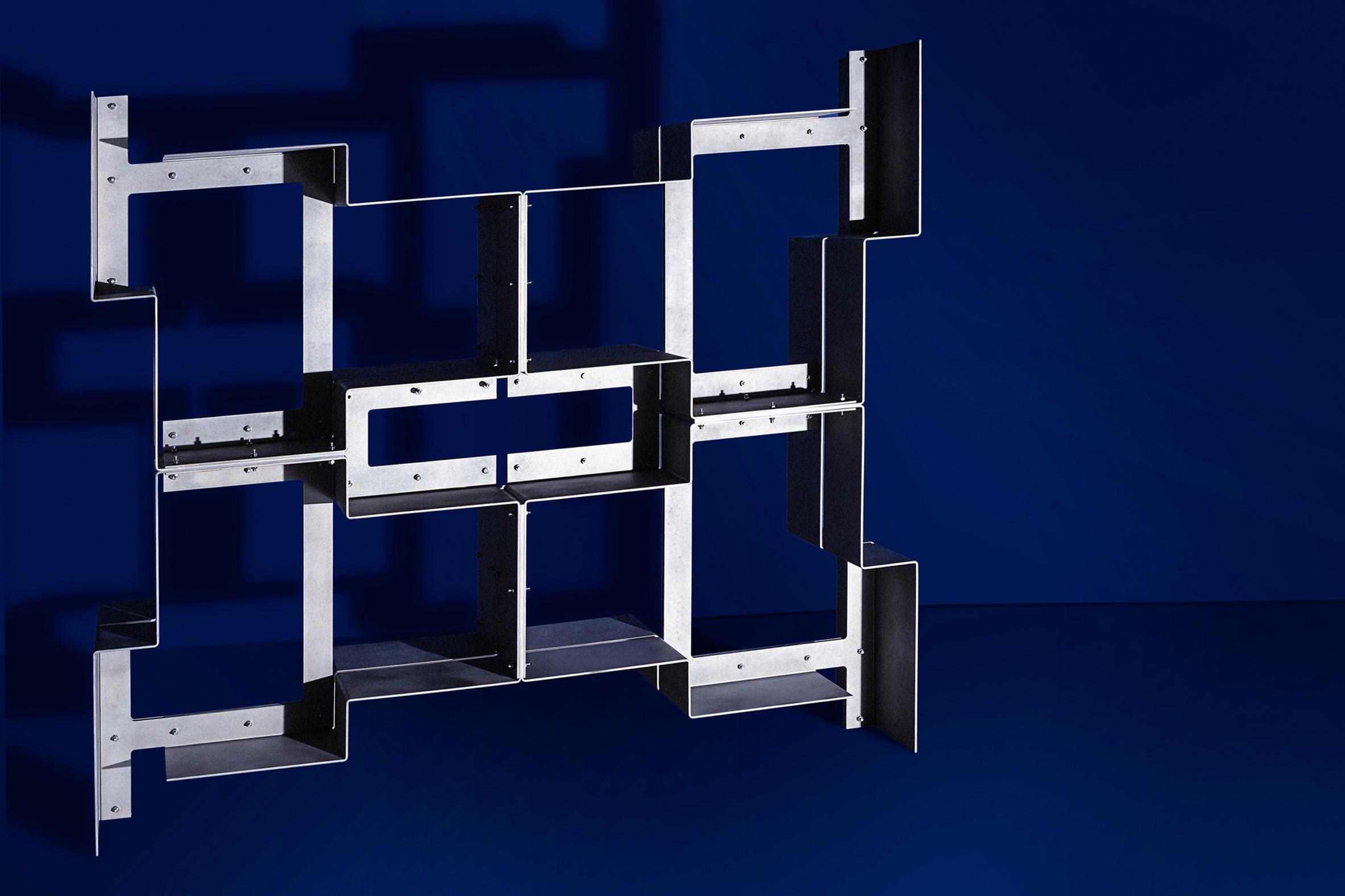 X Series shelf by Bram Vanderbeke and Wendy Andreu