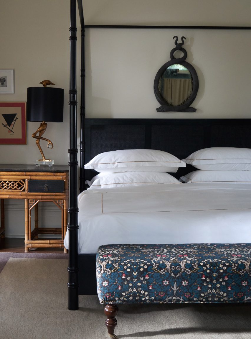 Bedrooms of The Chloe hotel in New Orleans
