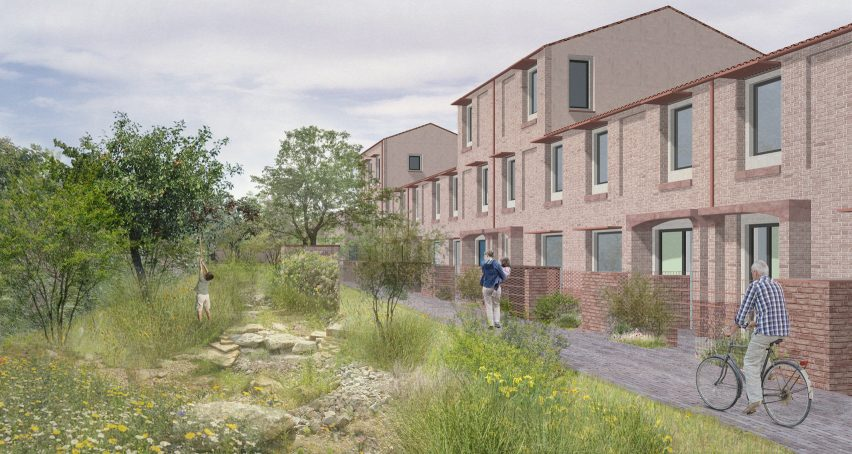 Landscape design of a site from Mikhail Riches Housing Delivery Programme for the City of York