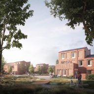 Mikhail Riches releases visuals for carbon-neutral housing scheme in York