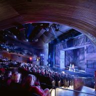 Coca-Cola Stage at the Alliance Theater by Trahan Architects in Atlanta, Georgia