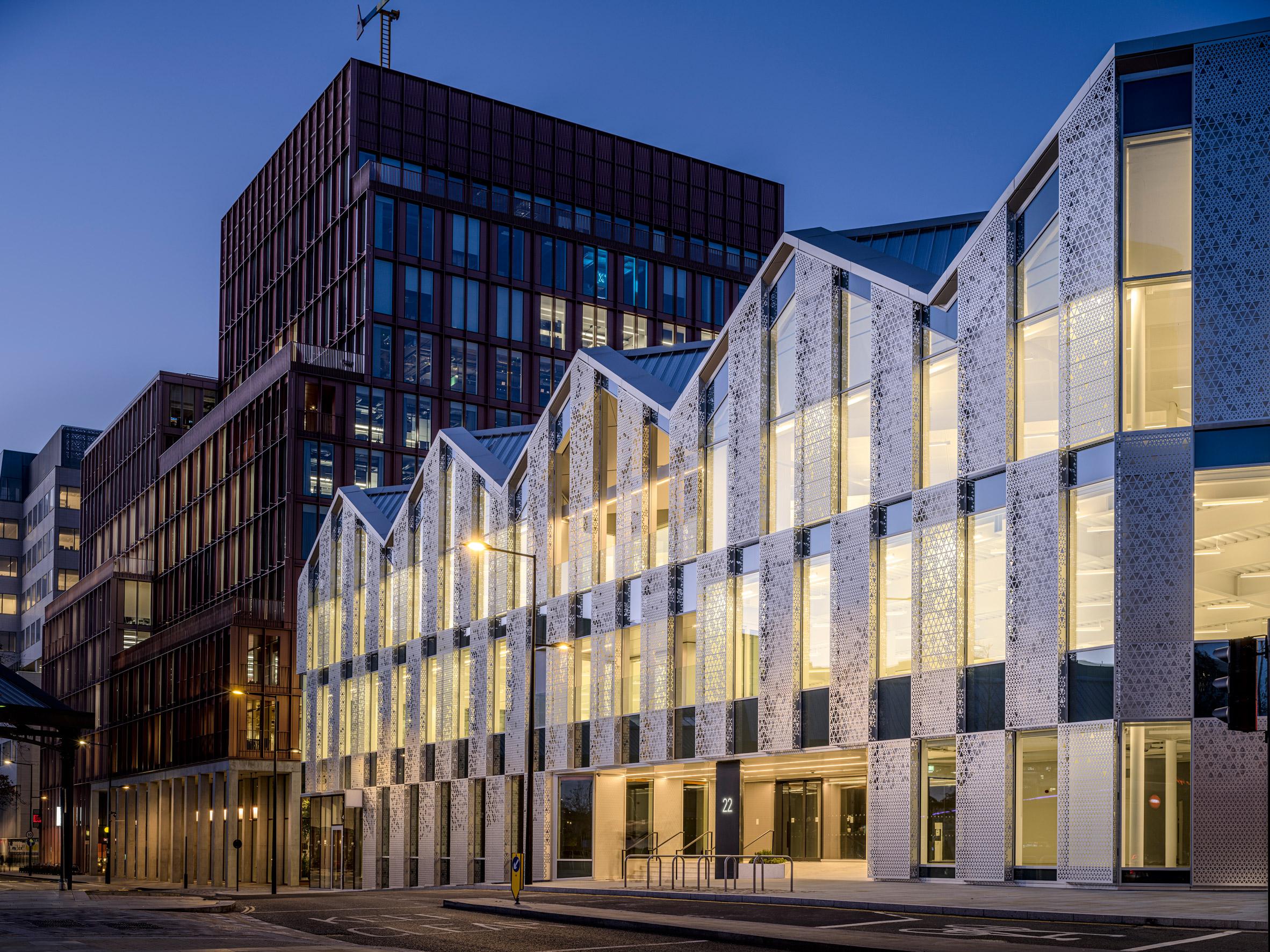 Office block in King's Cross