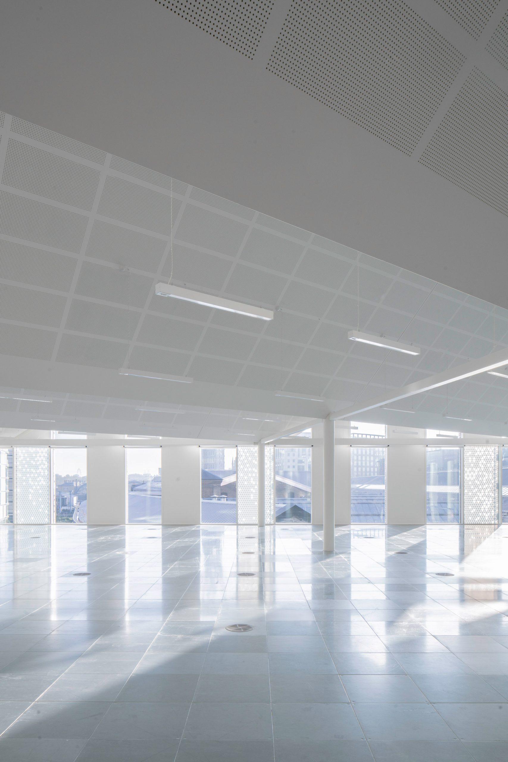 Office views across King's Cross