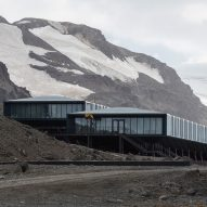 The site of the Comandante Ferraz Antartic Station by Estúdio 41 in Antarctica