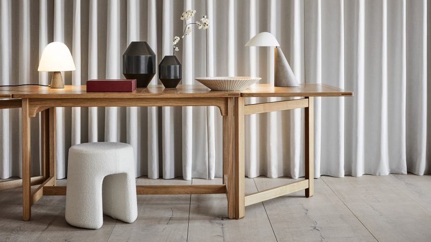 An overview of the Complements collection of accessories by Fredericia