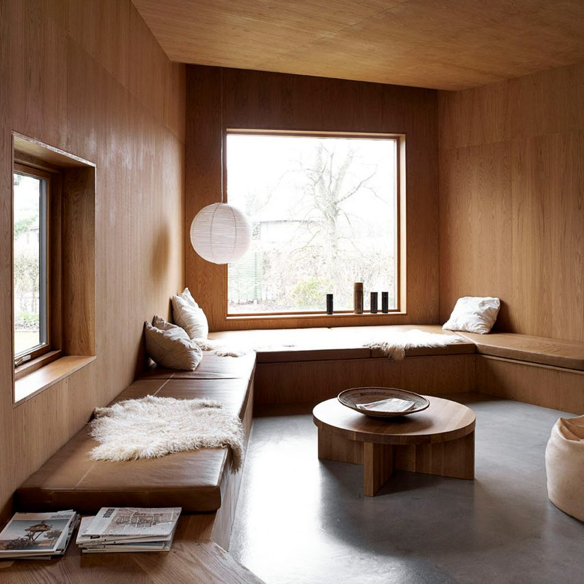 Cosy living rooms roundup: Villa Weinberg by Mette and Martin Weinberg