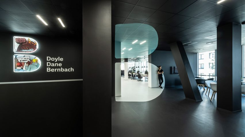 Office for creative agency DDB Prague by B2 Architecture, Czech Republic