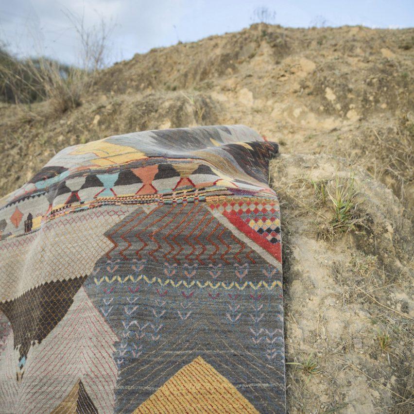 Deepak rug by Kasturi Balotia for Jaipur Rugs