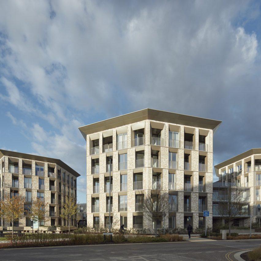 Athena by Alison Brooks Architects in Eddington, Cambridge