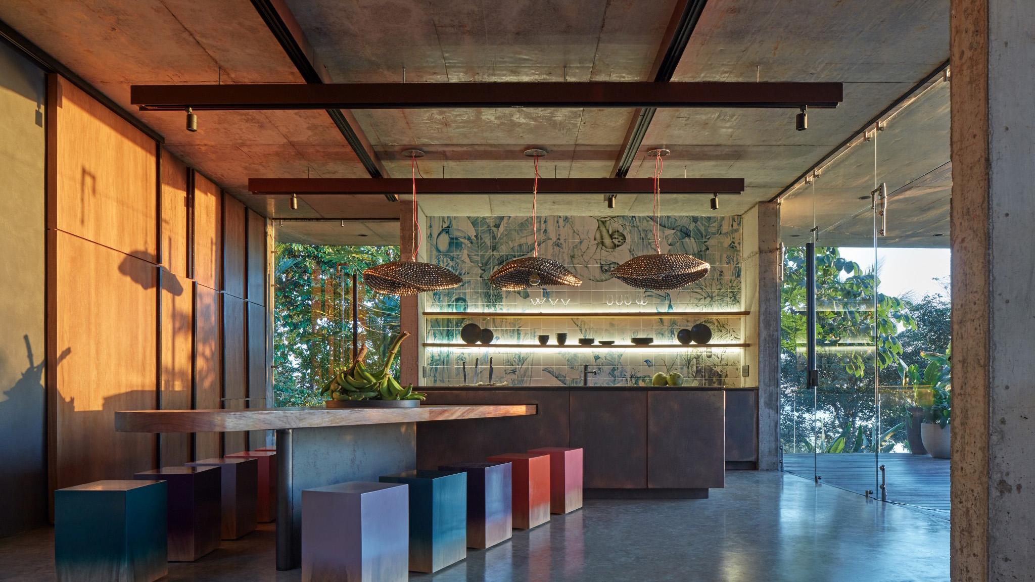 Art Villa in Costa Rica by Formafatal