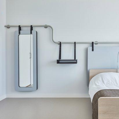 Domstate Zorghotel rehabilitation centre by by Van Eijk & Van der Lubbe, Utrecht