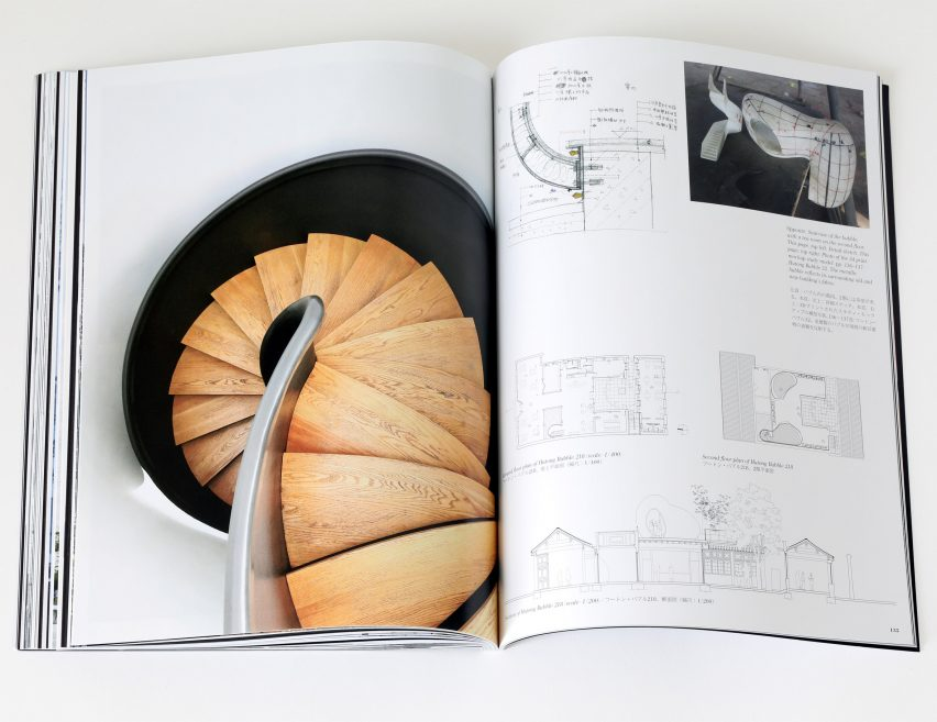 Spread from Dreamscape by a+u: Architecture and Urbanism magazine about Hutong Bubbles