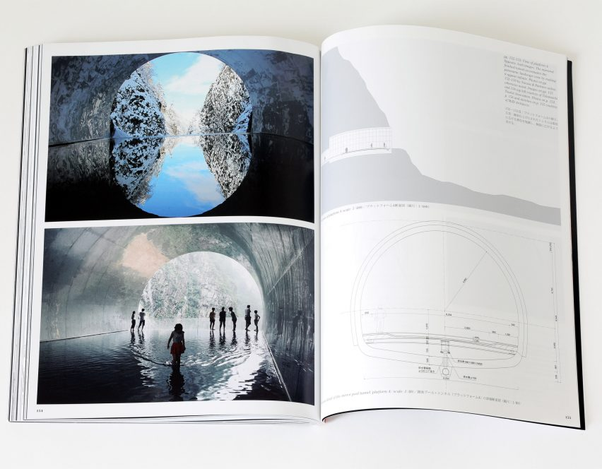Spread from Dreamscape by a+u: Architecture and Urbanism magazine featuring Tunnel of Light